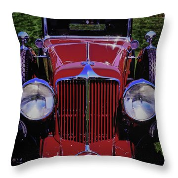 Cord Coupe Throw Pillow