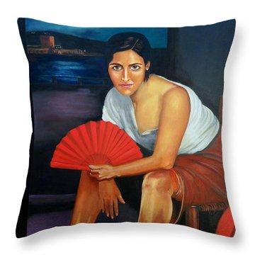 Cordoba De Noche  Throw Pillow