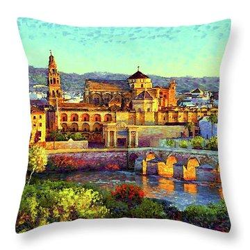 Spain Throw Pillows