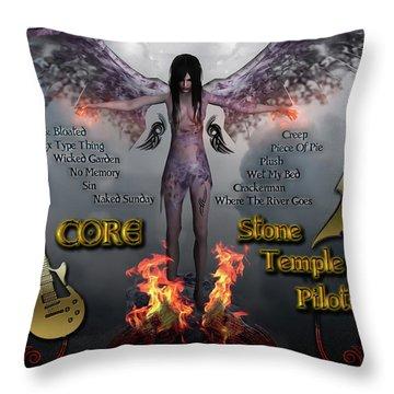 Core Throw Pillow