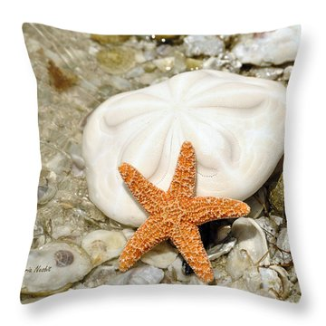 Core Of The Reef Throw Pillow