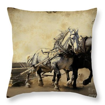 Core-two-duo Throw Pillow