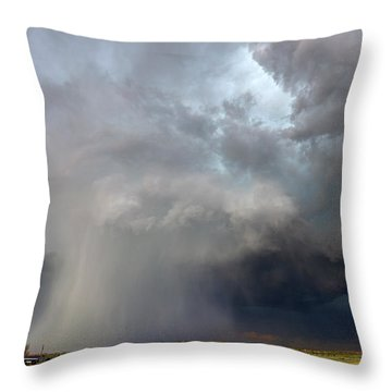 Cored Throw Pillow
