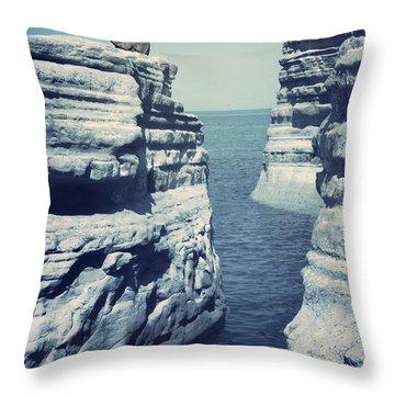Greece Throw Pillows