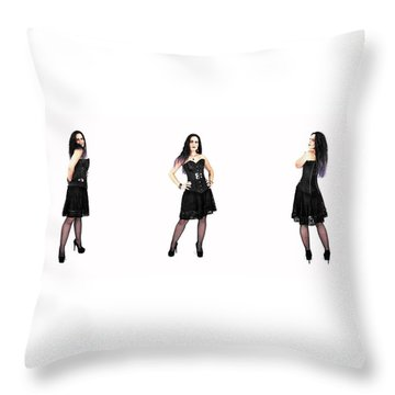 Corinne 4 Throw Pillow