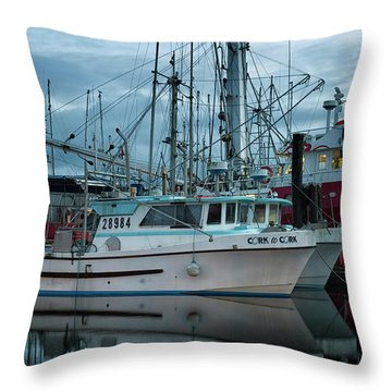 Throw Pillow featuring the photograph Cork To Cork by Randy Hall