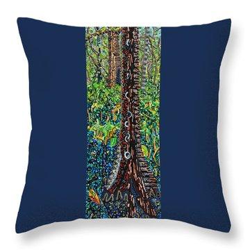Corkscrew Swamp Sanctuary 2 Throw Pillow by Micah Mullen