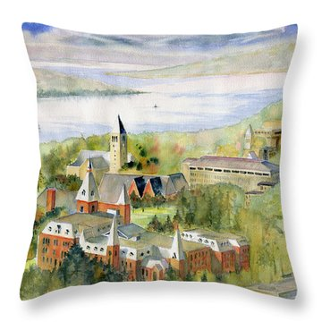 Cornell University Throw Pillow