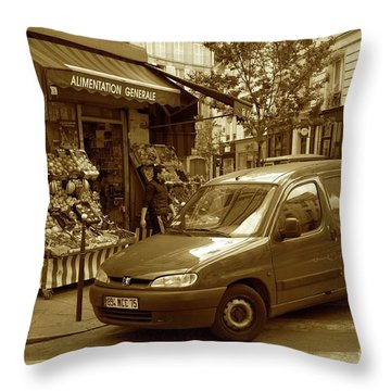 Corner Delivery Throw Pillow