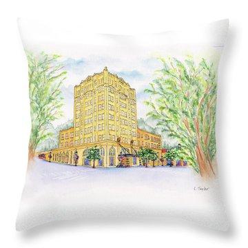 Corner Grandeur Throw Pillow