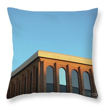 Corner Light Throw Pillow