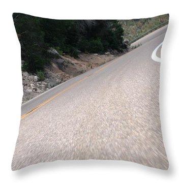Corner To Corner Throw Pillow