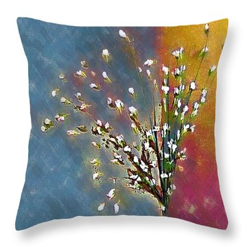 Cornered Throw Pillow