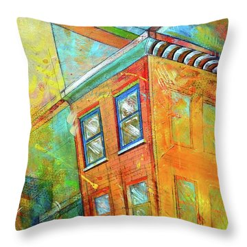 Cornice Throw Pillow
