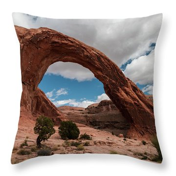 Corona Arch - 9755 Throw Pillow