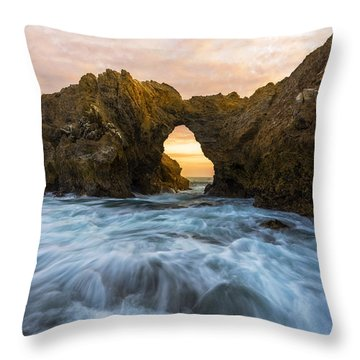 Throw Pillow featuring the photograph Corona Del Mar by Dustin  LeFevre