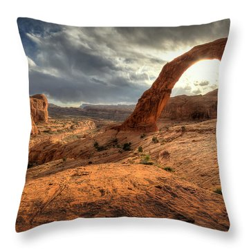 Corona Sun Throw Pillow