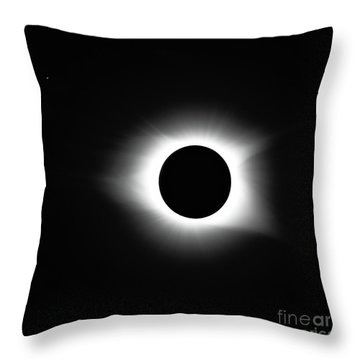 Totality 8-21-2017 Throw Pillow