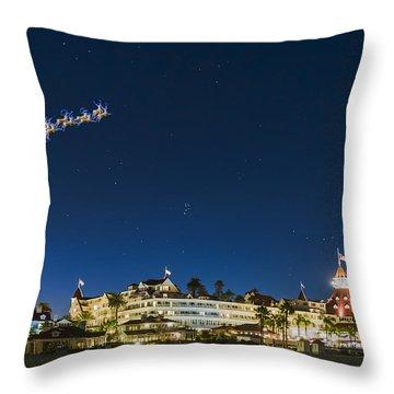 Coronado Christmas Throw Pillow