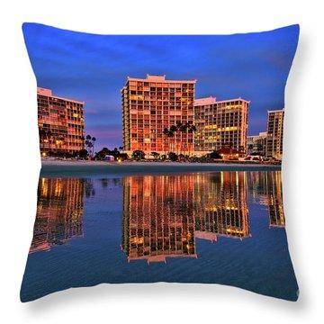 Coronado Glass Throw Pillow