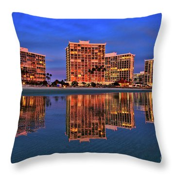 Coronado Glass Throw Pillow