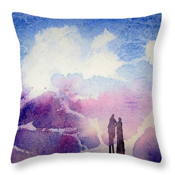 Coronado Island Wedding Throw Pillow