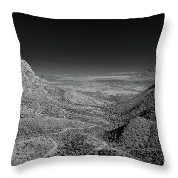 Coronado National Memorial In Infrared Throw Pillow