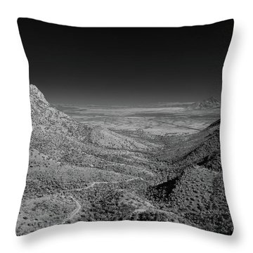 Coronado National Memorial In Infrared Throw Pillow