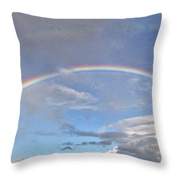 Coronado Rainbows Throw Pillow