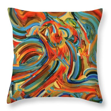 Coronal Mass Ejections #3 Throw Pillow