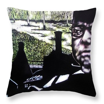Corporate Ambition Throw Pillow by Chester Elmore