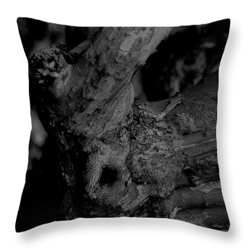 Corpses Fossil Throw Pillow