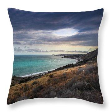 Corral Canyon Malibu Trail Throw Pillow