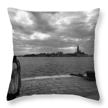 Throw Pillow featuring the photograph Correspondences by Yuri Santin
