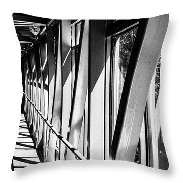 Corridors Throw Pillow