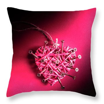 Corrosion Of Emotion Throw Pillow