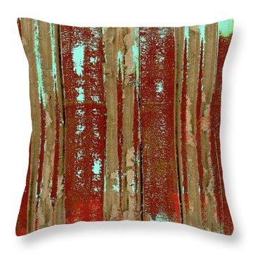 Corrugation Throw Pillow