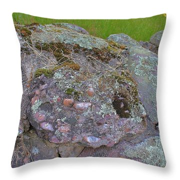 Corruption On The Cairns Throw Pillow