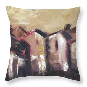 Corsica Throw Pillow by Roxy Rich