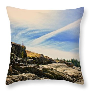 Cortez Island Throw Pillow