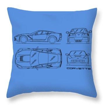 C7 Throw Pillows