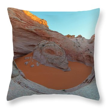Cosmic Ashtray Throw Pillow