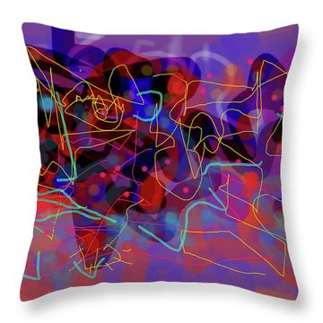 Cosmic Beast Throw Pillow