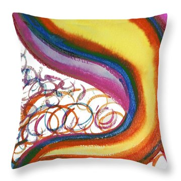 Cosmic Caf Throw Pillow