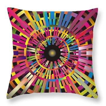 Cosmic Calibrator Throw Pillow