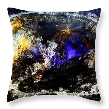 Cosmic Dream  45x60 Prints Modern Paintings Abstract Art Original Throw Pillow