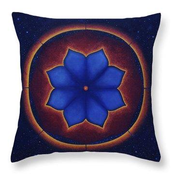Cosmic Harmony Throw Pillow