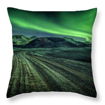 Cosmic Journey Throw Pillow