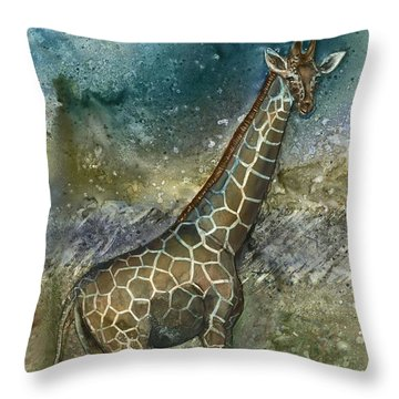 Cosmic Longing Throw Pillow