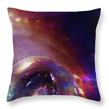 Cosmic Orb Throw Pillow